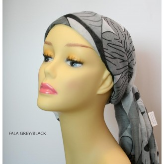 TURBANTE FALA GREY/BLACK ELLEN WILLE