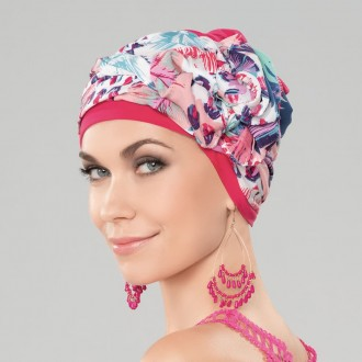Turbante oncologico Garbo Pink Ellen Wille