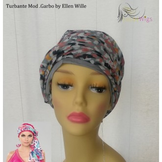 Turbante oncologico Garbo Grey Ellen Wille